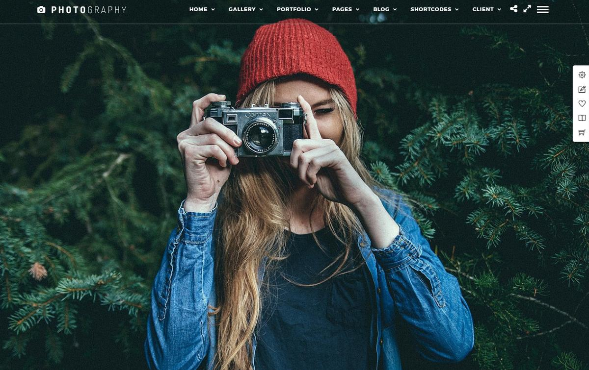 Photography Theme Themforest