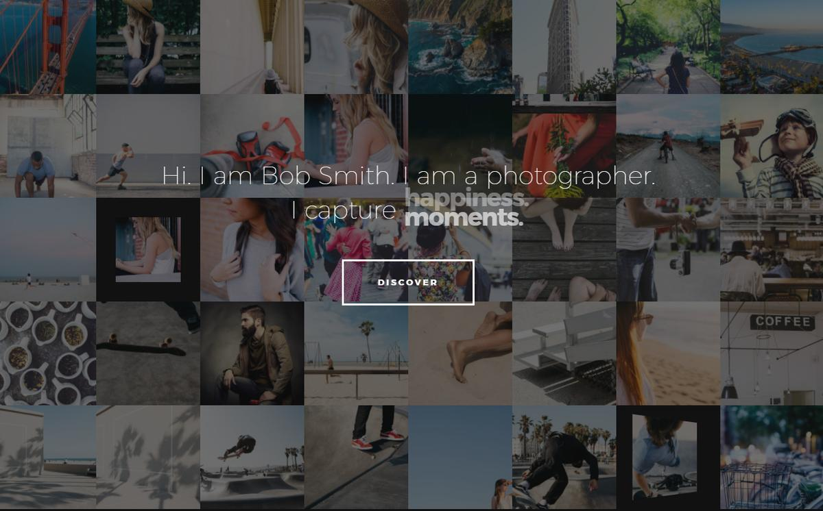 photographer-WordPress Theme Themeforest