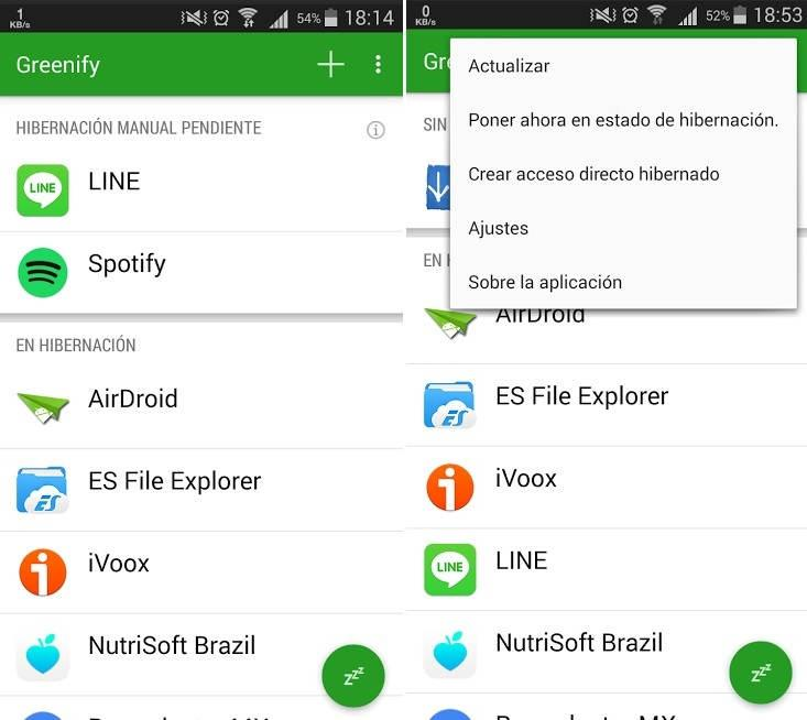 apps indispensables para android greenify