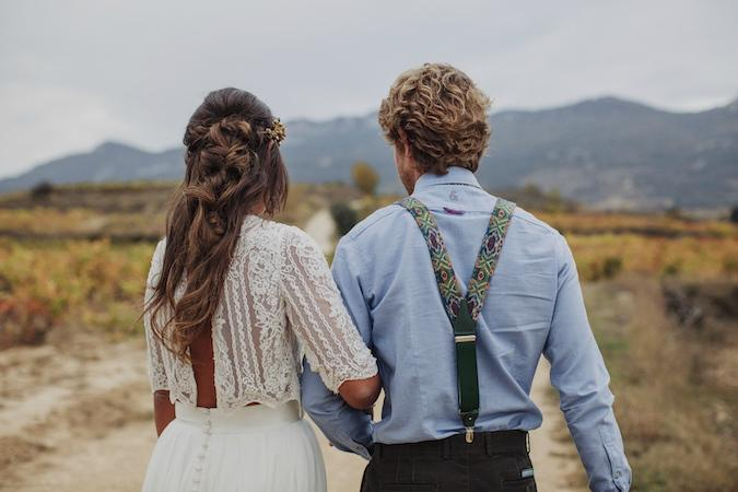among vineyards elopement