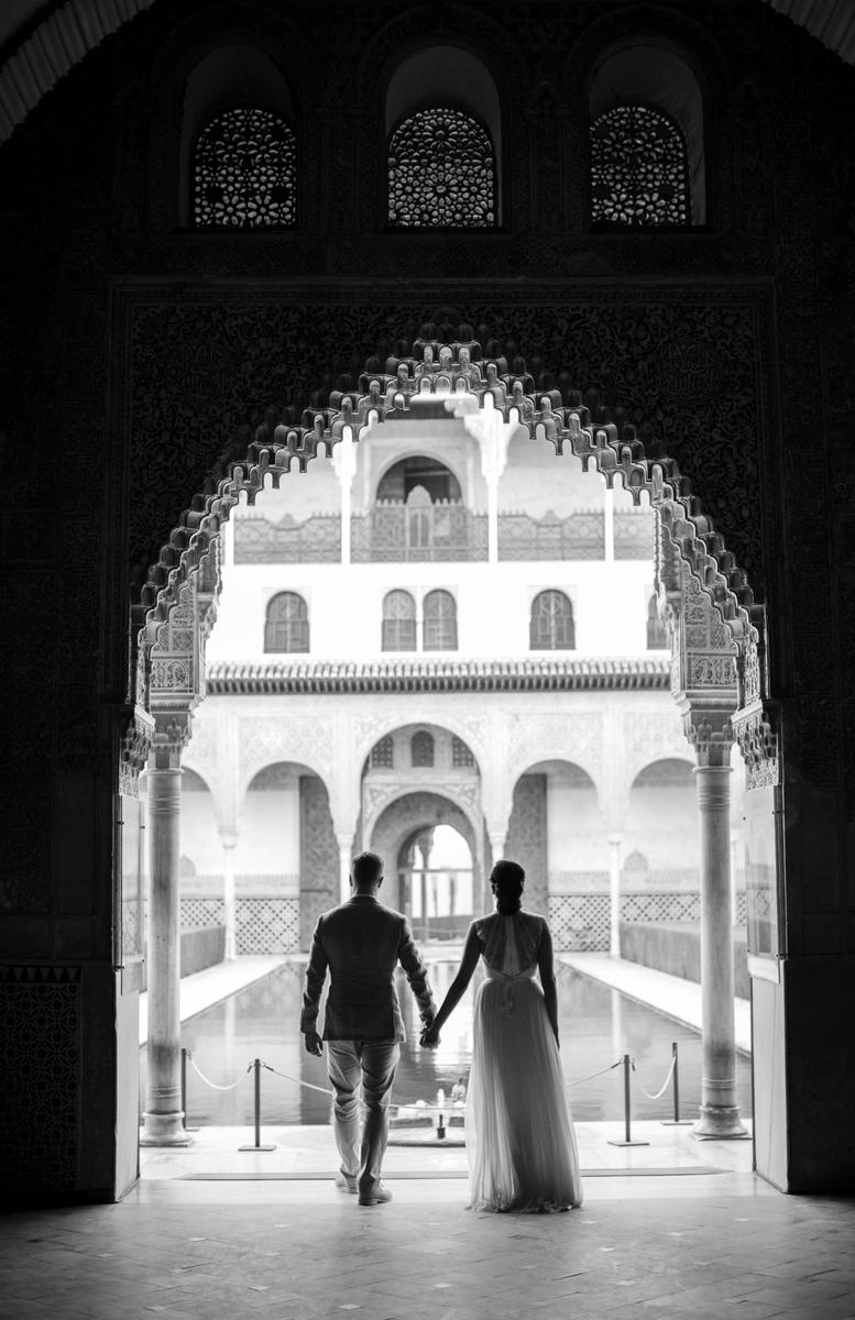 Alhambra wedding