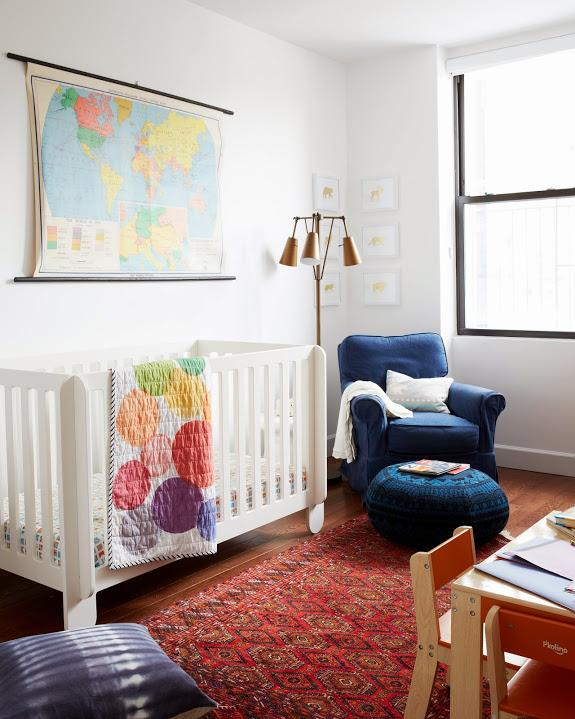 retro nursery design