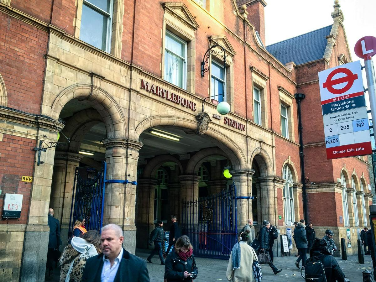 Estación de Marylebone (Londres)
