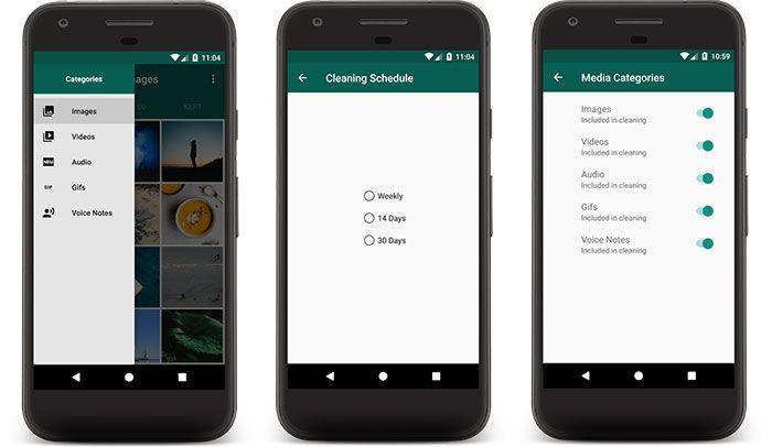 imagen Timely Cleaner: WhatsApp Scheduled Cleaning para Android
