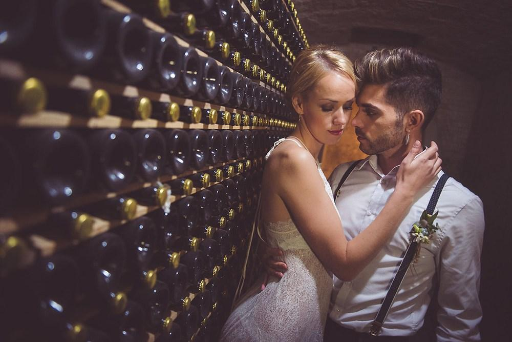editorial bodas love wine