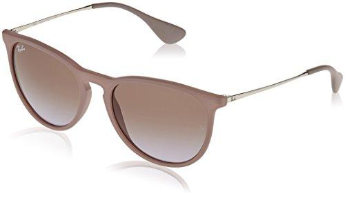 Unisex-Adult Erika Aviator Sunglasses, DARK RUBBER SAND, 54 mm