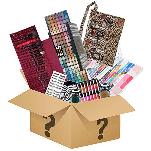 SHANY Holiday Surprise - Exclusive All in One Makeup Set - Includes Pro Makeup Brush Set, Eyeshadow Palette ,Makeup Set, Lipgloss Set and etc. - COLORS VARY