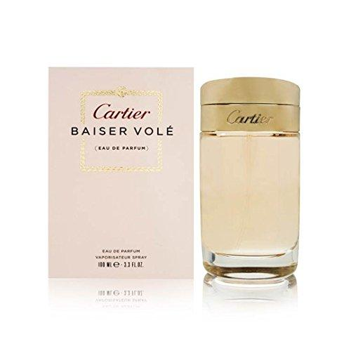 Cartier Baiser Vole Eau De Perfume Spray for Women, 3.3 Ounce