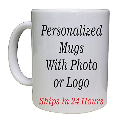 Marvelous Printing Next Day Print Personalized White Custom Mug w