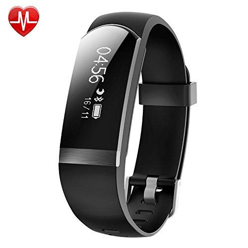 Fitness Tracker,Willful Heart Rate Monitor Watch Waterproof Smart Bracelet Activity Tracker with Sleep Monitor Step Calories Counter Alarm Clock Call Message Notice for Android iOS Phones Women Men