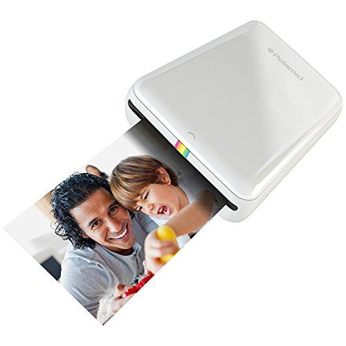 Polaroid ZIP Mobile Printer w/ZINK Zero Ink Printing Technology - Compatible w/iOS & Android Devices - White