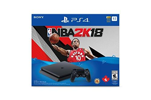 Playstation 4 1TB Slim - NBA 2K18 Bundle Edition