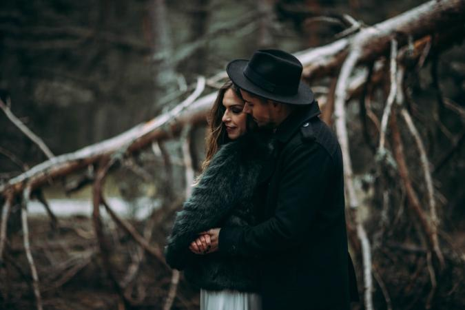some snow elopement invierno