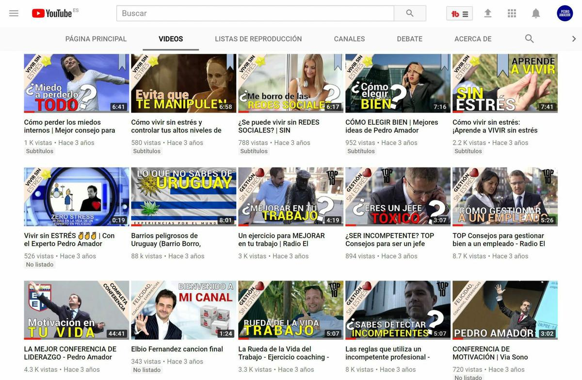 Mianiaturas en YouTube SEO