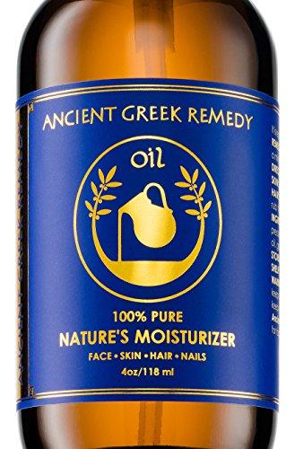 100% Organic Blend of Olive, Lavender, Almond and Grapeseed oils with Vitamin E. Daily Moisturizer for Skin, Hair, Face, Cuticle, Nail, Scalp, Foot. Pure, Cold Pressed, Full Body oil for Men and Women