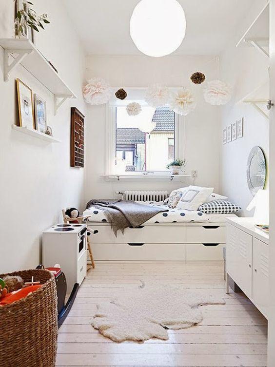 Ideas de decoración para habitaciones infantiles pequeñas 1