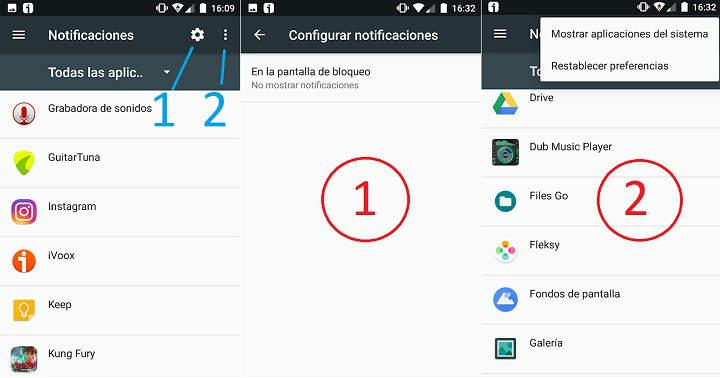 como quitar las notificaciones de android desactivar los avisos de apps de la pantalla del movil tutorial