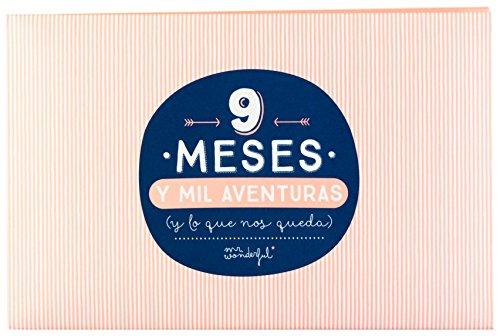 "Mr. Wonderful Álbum con mensaje ""9 meses y mil aventuras"""