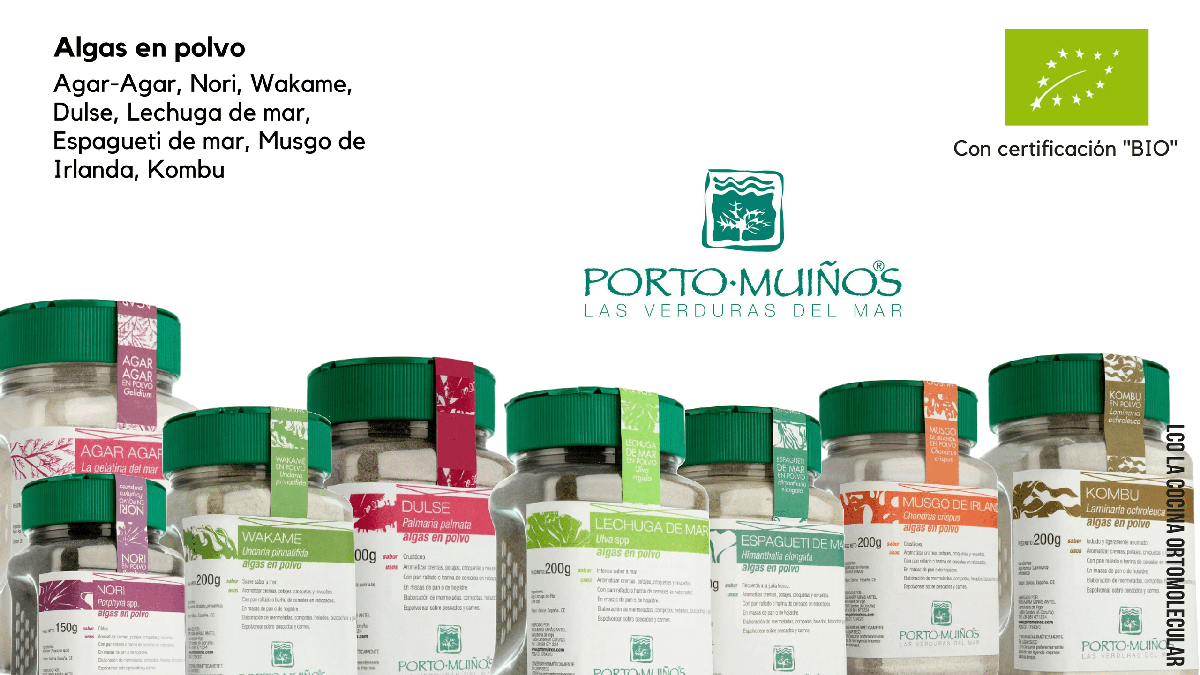 Algas en polvo- Superfoods