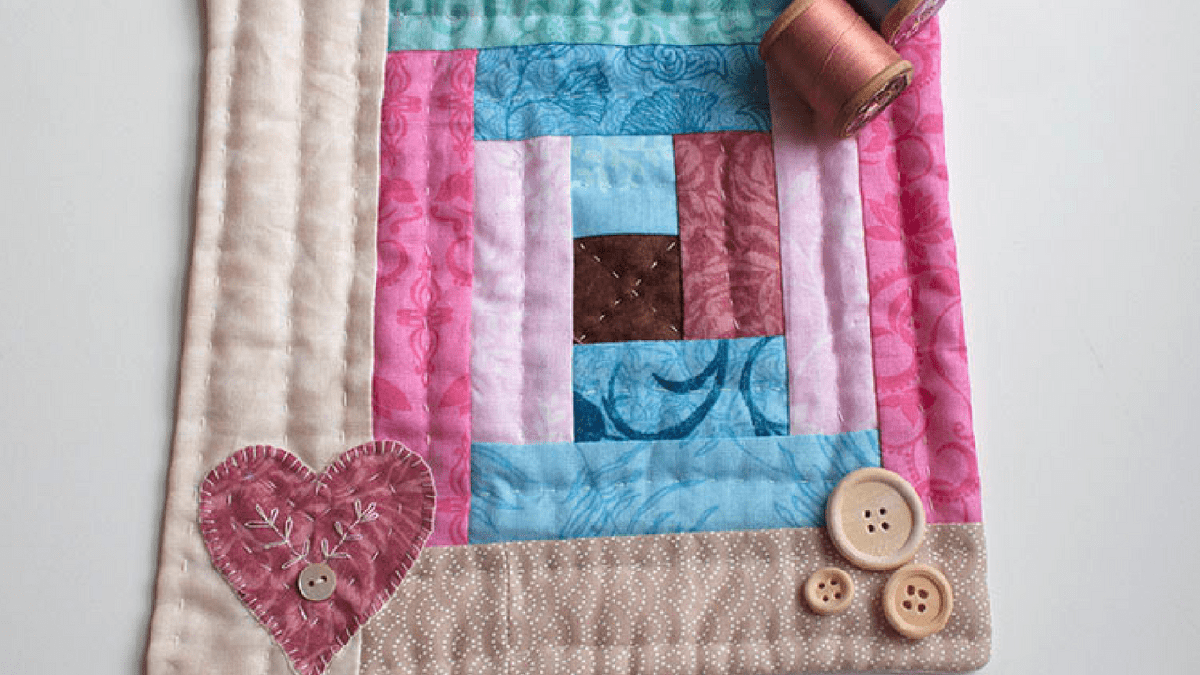 MINI QUILT DE PATCHWORK