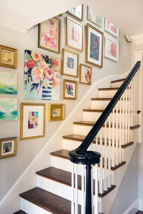 Decorar una escalera.