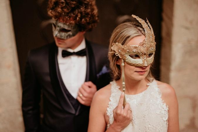 the mask elopement carnaval