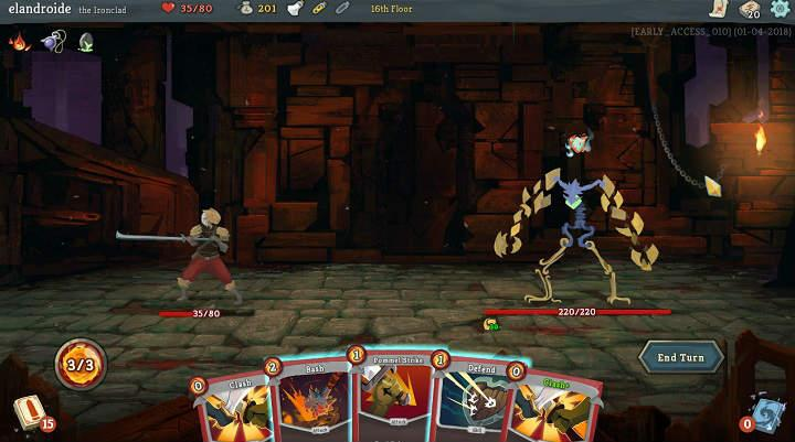analisis de Slay the Spire juego de cartas tipo roguelike similar a Magic The Gathering con mazmorras generadas aleatoriamente disponible para Steam