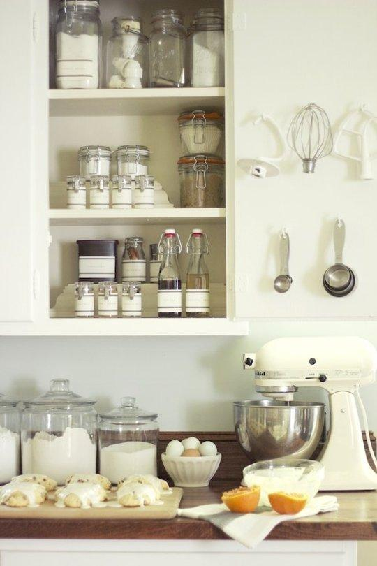 small space kitchen storage