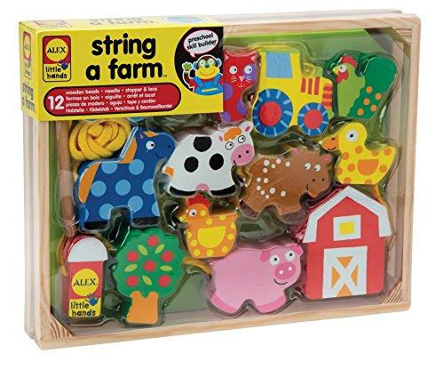 ALEX Toys Little Hands String A Farm