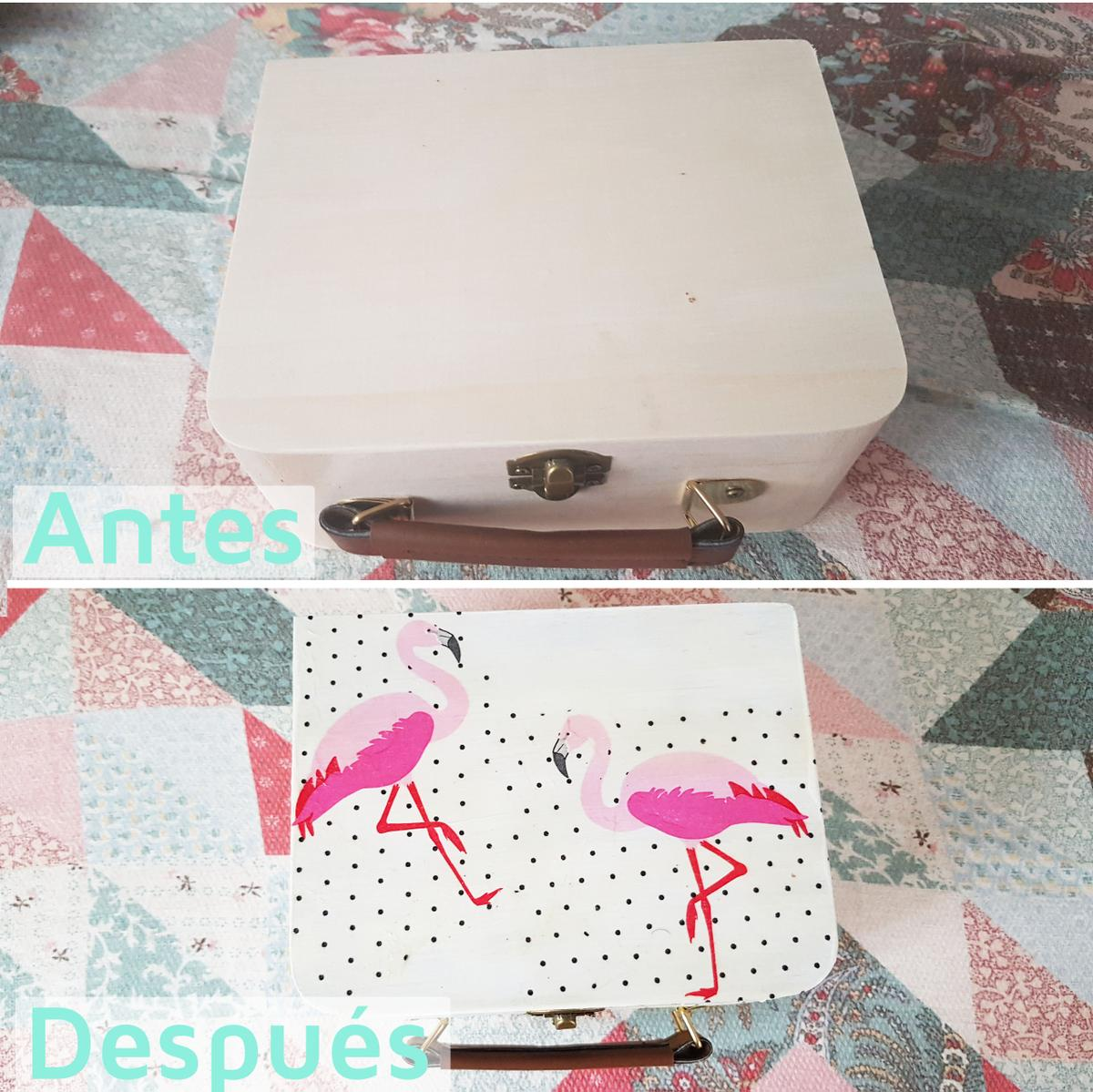 Decorar madera con servilletas - decoupage antes y despues