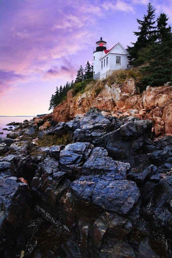 Islas para visitar en Estados Unidos, Bass Harbor Head Light, Acadia National Park, Maine