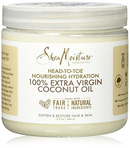 SheaMoisture 15 oz 100% Extra Virgin Coconut Oil