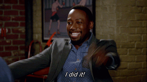 Excited Lamorne Morris GIF by New Girl-source