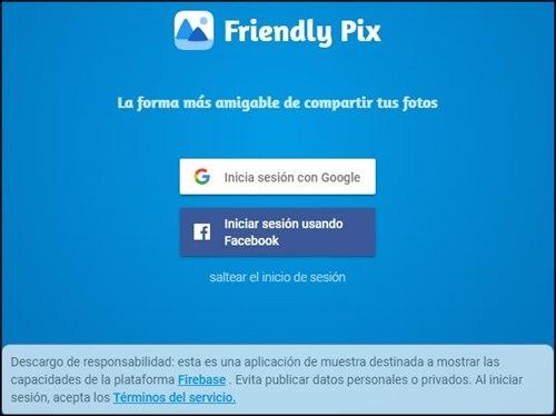 Friendly pix inicio