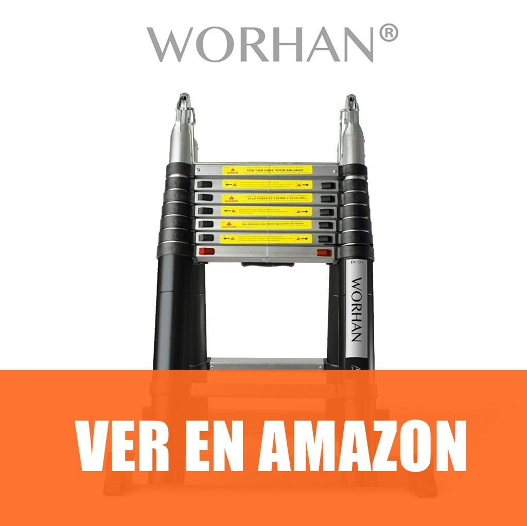 WORHAN - Escalera Doble Telescopica