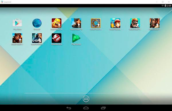 top-emulador-android-pc-2017-leapdroid