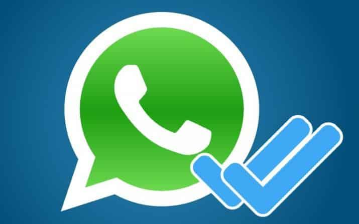 Ocultar doble check de whatsapp