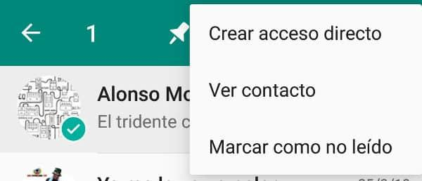 Marcar chat leido en whatsapp