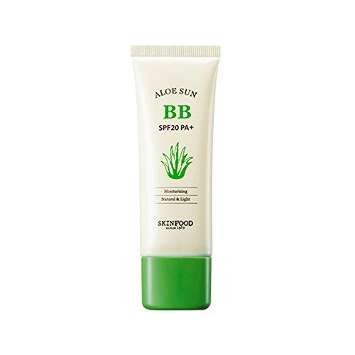 Skinfood Aloe Sun BB Cream SPF 20 PA+ No.1 Bright Skin 50g