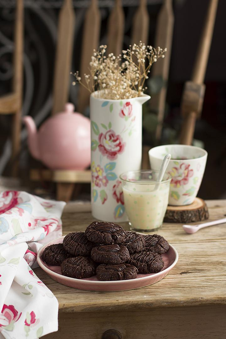 Cookies 3 Chocolates receta saludable