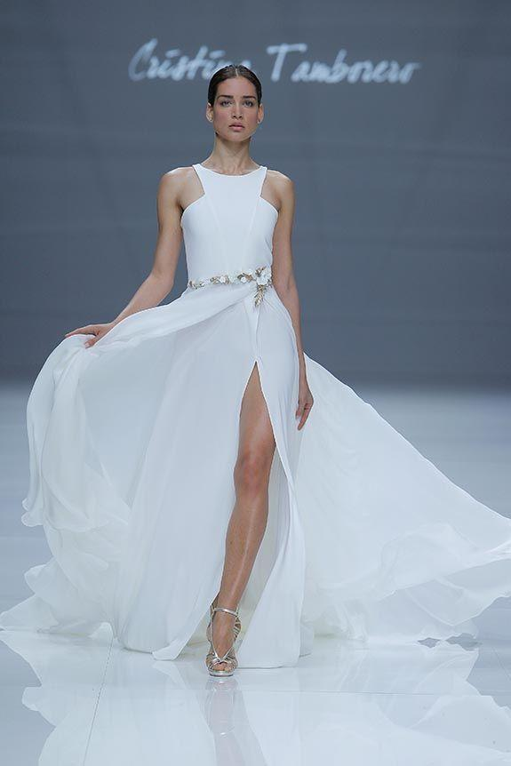Vestidos novia Cristina Tamborero Bridal Fashion Week
