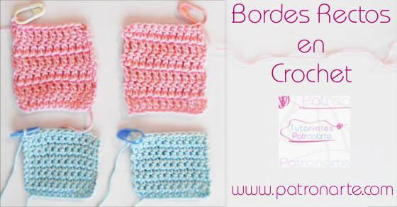 Bordes Rectos de Crochet