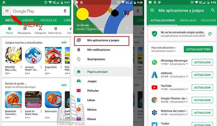 Actualizar la versión estable de WhatsApp para Android