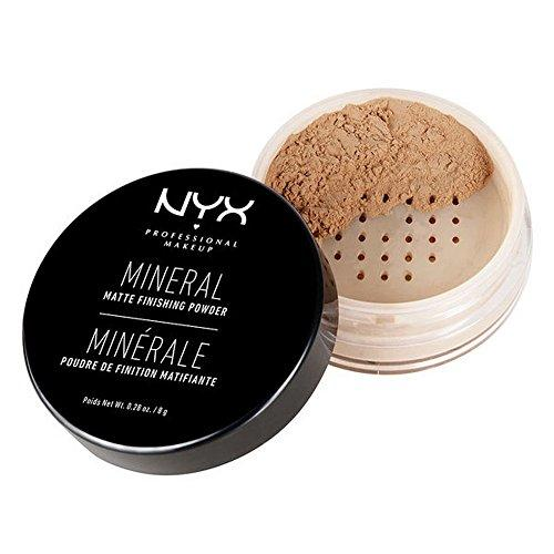 NYX Cosmetics Mineral Finishing Powder, Medium/Dark, 0.28 Ounce