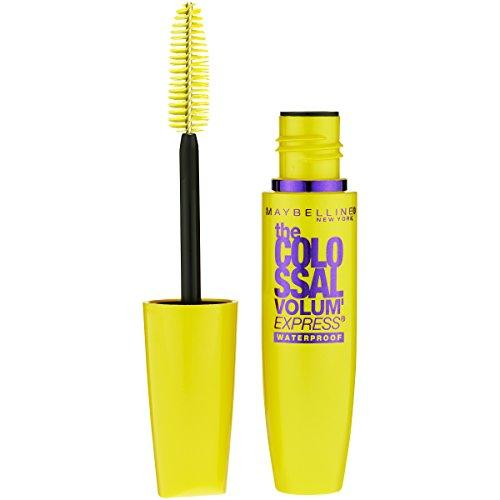 Maybelline The Colossal Volum Express Waterproof Mascara, 240 Glam Black, for Women, 0.27 oz