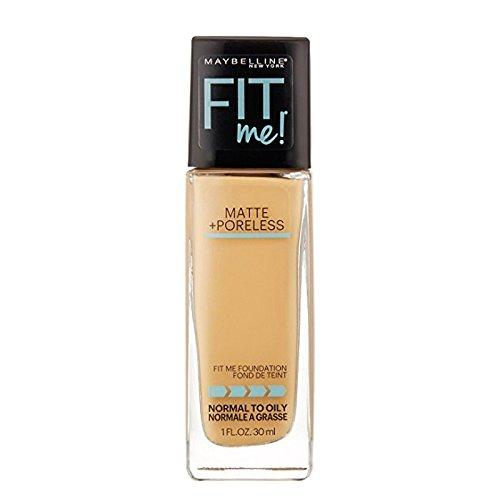 Maybelline New York Fit Me Matte Plus - Base para maquillaje no porosa de 30 ml