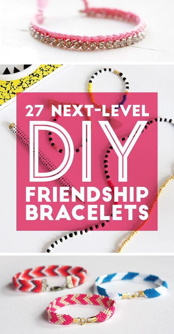 27 Next-Level DIY Friendship Bracelets: