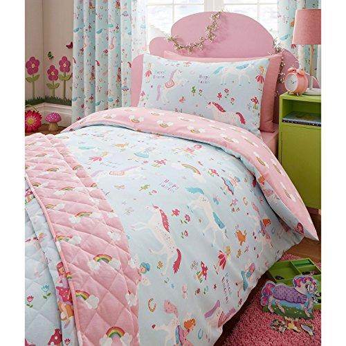 Magical Unicorn Junior/Toddler Duvet Cover and Pillowcase Set