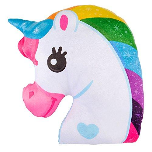 Booboolala Soft and Cuddly Magical Unicorn Pillow 15""