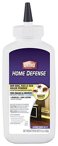Ortho 0202410 Home Defense Max Bed Bug, Flea and Tick Killer Powder